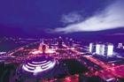 璀璨的钱江新城