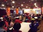 上海青少年迎世博100天 巧手搭建中国馆