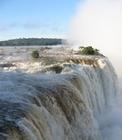 气势磅礴的伊瓜苏瀑布