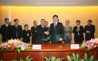 双方签署了参展合同