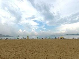 大梅沙沙滩排球场