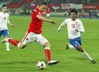 国家队比赛 封堵对手射门