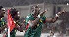 喀麦隆进球后经典动作