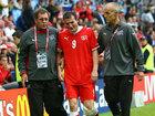 欧洲杯比赛受伤下场