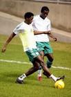尼日利亚对内日常训练