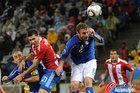 意大利VS巴拉圭 德罗西表情怪异
