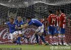 意大利1-1巴拉圭