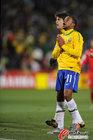 巴西VS朝鲜 罗比尼奥大呼遗憾