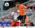 图文:荷兰VS丹麦 范德维尔争顶