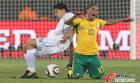 南非0-3乌拉圭 南非核心跪倒