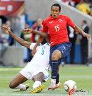 洪都拉斯0-1智利 进球功臣受阻