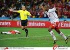 西班牙VS瑞士 疯狂庆祝