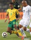 南非0-3乌拉圭 沙巴拉拉神奇不再