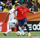 洪都拉斯0-1智利 桑切斯勇往直前