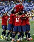智利庆祝博塞豪尔进球