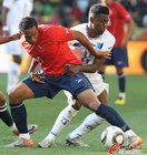 洪都拉斯0-1智利 拉扯激烈