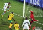 南非对阵乌克兰中莫科纳