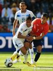 洪都拉斯VS智利 双方身体对抗