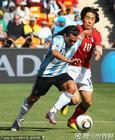 阿根廷4-1韩国 特维斯突破