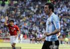 阿根廷VS韩国 伊瓜因庆祝进球