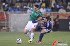 图文:法国VS墨西哥 弗朗哥对抗里贝里