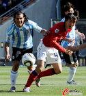 阿根廷VS韩国 特维斯举步艰难