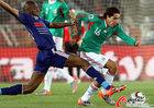 图文:法国VS墨西哥 华雷斯过掉迪亚比