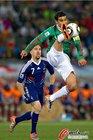图文:法国0-2墨西哥 马科斯骁勇异常