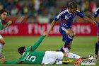 图文:法国0-2墨西哥 马卢达跳过飞铲