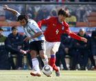 阿根廷4-1韩国 特维斯被对方紧逼