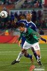图文:法国0-2墨西哥 阿内尔卡推人