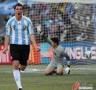 阿根廷VS韩国 属于伊瓜因的时刻