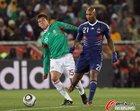 图文:法国0-2墨西哥 阿内尔卡进攻不力