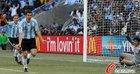 阿根廷4-1韩国 伊瓜因庆祝