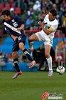 图文:斯洛文尼亚2-2美国 科伦害怕受伤