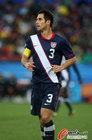 图文:斯洛文尼亚2-2美国 队长博卡内格拉