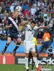 图文:斯洛文尼亚VS美国 德梅里特爆顶