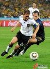 图文:德国VS澳大利亚 拉姆拿球