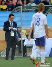 图文:荷兰VS日本 日教练与本田圭佑