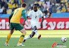 图文:加纳1-1澳大利亚 萨尔佩直传