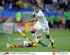 图文:加纳1-1澳大利亚 博阿滕前进