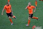 图文:荷兰VS日本 海廷加斯内德庆祝