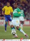 图文:巴西3-1科特迪瓦 德罗巴很勤奋