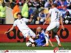 图文:新西兰1-1斯洛伐克 洛希黑德倒地飞铲