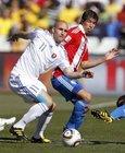 图文:斯洛伐克0-2巴拉圭 维特克难以突破