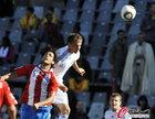 图文:斯洛伐克0-2巴拉圭 萨拉塔先出一头