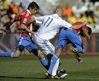 图文:斯洛伐克0-2巴拉圭 维特克受阻
