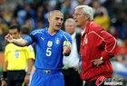 图文:意大利VS新西兰 卡纳瓦罗与里皮