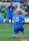 图文:意大利VS新西兰 卡纳瓦罗疲惫不堪