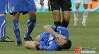 图文:意大利VS新西兰 赞布罗塔很痛苦